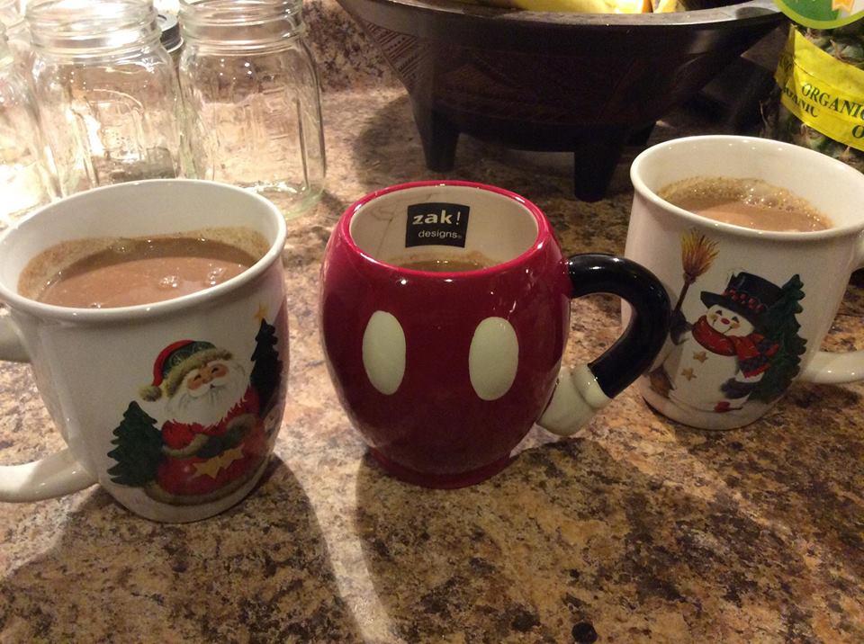 3 hot choc cups