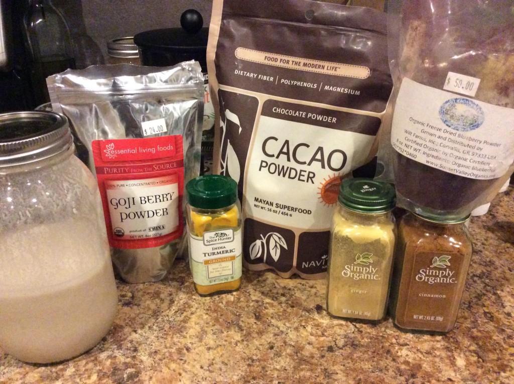 hot choc ingredients